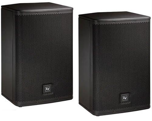 "Ev Electro Voice Elx112P 12"" Active/Powered 2-Way Dj Pa Speakers Elx-112P Pair"