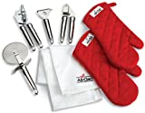 All-Clad GS6013 Stainless Steel Gadget and Gift Set, 6-Piece, Silver