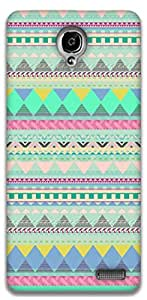 The Racoon Grip Blue Dreams hard plastic printed back case / cover for Alcatel Onetouch Idol X 6040D