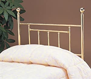 Cecil Headboard in Gold Size: Queen