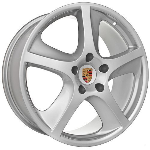 20 Inch Porsche Wheels Rims Black (set of 4)