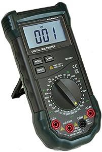 Mastech MS8261 30-Range Full Featured Manual Digital Multimeter with Capacitance Measurement, MS8260 Series