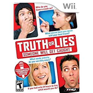 Truth or Lies Wii Game