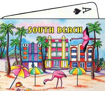South Beach Florida Collectible Souvenir Playing Cards
