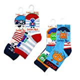 Brand New 3 Pairs of Baby Boy/Toddler Cotton Rich Socks