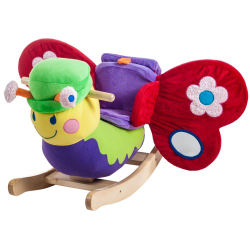 Happy Trails Rocking Bettie Butterfly Plush - 1