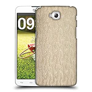 Snoogg Abstract 6lden Feathers Designer Protective Phone Back Case Cover For LG G Pro Lite