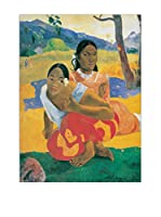 Artopweb Panel Decorativo Gauguin When Will You Marry Multicolor