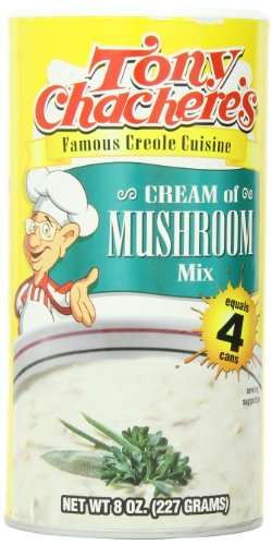 Tony Chachere Instant Cream Of Mushroom Mix, 8-Ounce Containers (Pack Of 12)