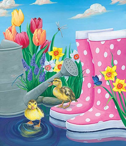 Puddle Fun a 200-Piece Jigsaw Puzzle by Sunsout Inc.