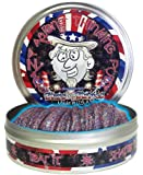 Crazy Aaron's Glow-in-the-Dark Stars and Stripes Putty Novelty