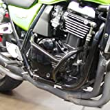 RENNTEC BLACK ENGINE CRASH PROTECTOR GUARDS BARS KAWASAKI ZRX1100 ZRX1200 C1-C4