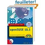 Jetzt lerne ich openSUSE 10.3, m. DVD-ROM