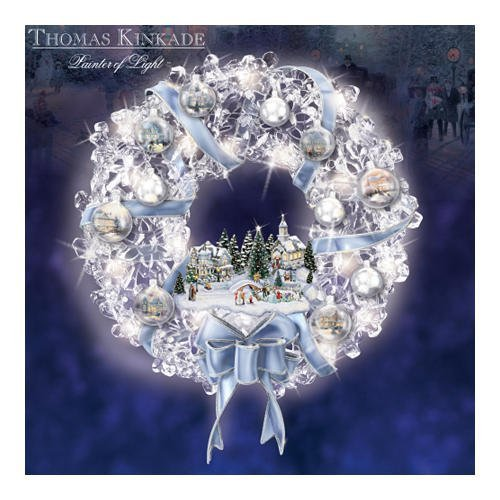Thomas Kinkade Glistening Wreath