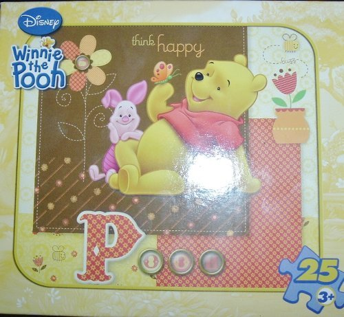 "Disney Winnie The Pooh & Tigger ""Let's Get Lookifying"" 25 Piece Puzzle"