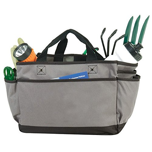 St4l266221330 deluxe professional tote bag grey home for Professional gardening tools