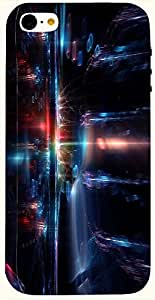 Attractive multicolor printed protective REBEL mobile back cover for iPhone 5C D.No.N-T-1169-IP5C