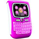 "Barbie ""Chat with Me"" PDA Phone for Pretend Play - Cool light-up display"