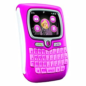 Barbie chat with me pda phone for pretend - Telephone barbie ...
