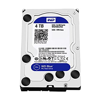 WD Caviar (WD40EZRX) 4TB Desktop Internal Hard Disk