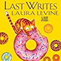Last Writes: A Jaine Austen Mystery Audiobook by Laura Levine Narrated by Brittany Pressley