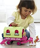 ELC- Happyland Roaming Rose Caravan with Horse