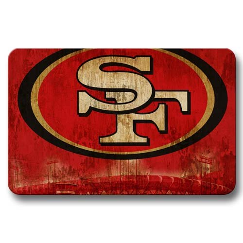 San francisco 49ers bath mats price compare for 49ers bathroom decor