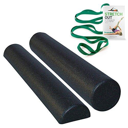 Commart Black Composite Foam Rollers 36
