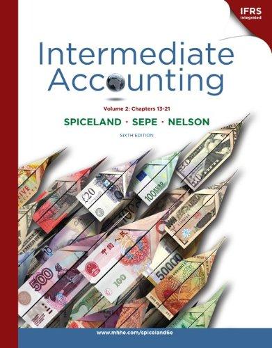 Intermediate Accounting Volume 2 (Ch 13-21) with British...