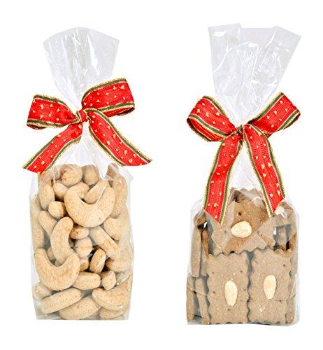 Artikelbild: Jeffo Weihnachtsleckerlis für Hunde - Set Hundekekse Kipferl und Lebkuchen (je 250g)