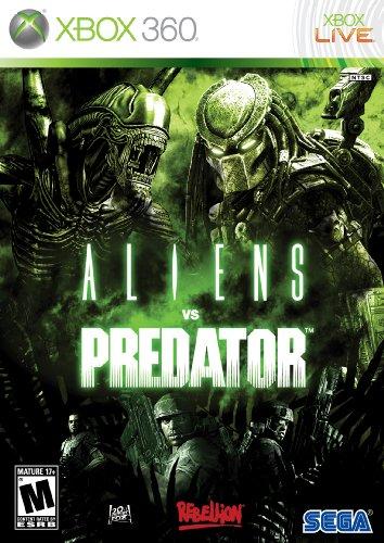 Aliens Vs Predator - Xbox 360 front-338243