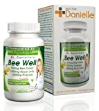 Dr. Danielles Bee Well (Royal Jelly 1500mg, Propolis 1000mg, Beepollen 750mg) in 4 Daily Capsules
