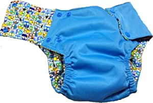 Kissa's Waterproof 2T Pocket Training Pants, Blue (Discontinued by Manufacturer)