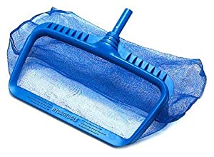 Swimline 8040 Professional Heavy Duty Deep-Bag Pool Rake, Blue from Swimline