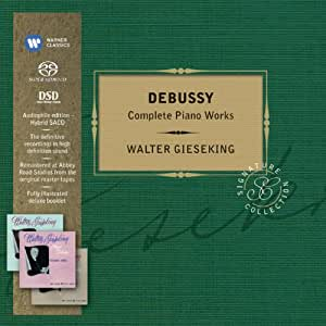 Debussy: Complete Piano Works (Coffret 4 CD)
