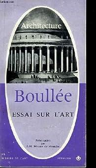 etienne louis boullee construction essay or dissertation artwork critique