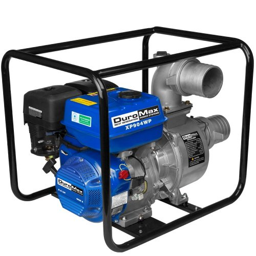 Imperial DuroMax XP904 Portable 4 in. Water Pump 9.0 Hp. Gasoline Engine