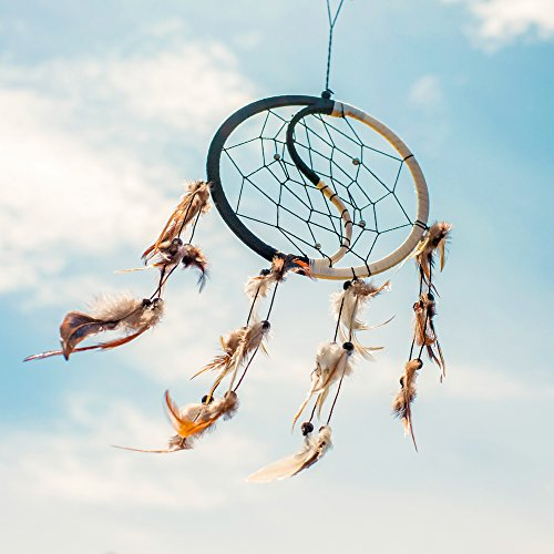 Dream Catcher ~ Handmade Traditional Yin Yang 6.5