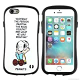 iPhone6s iPhone6ケース カバー スヌーピー iface First Class 正規品 ストラップホール / スヌーピー&チャーリー・ブラウン / ホワイト