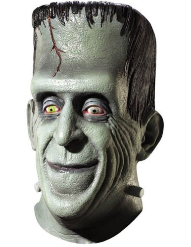 Munsters Herman Mask Halloween Costume - Most Adults