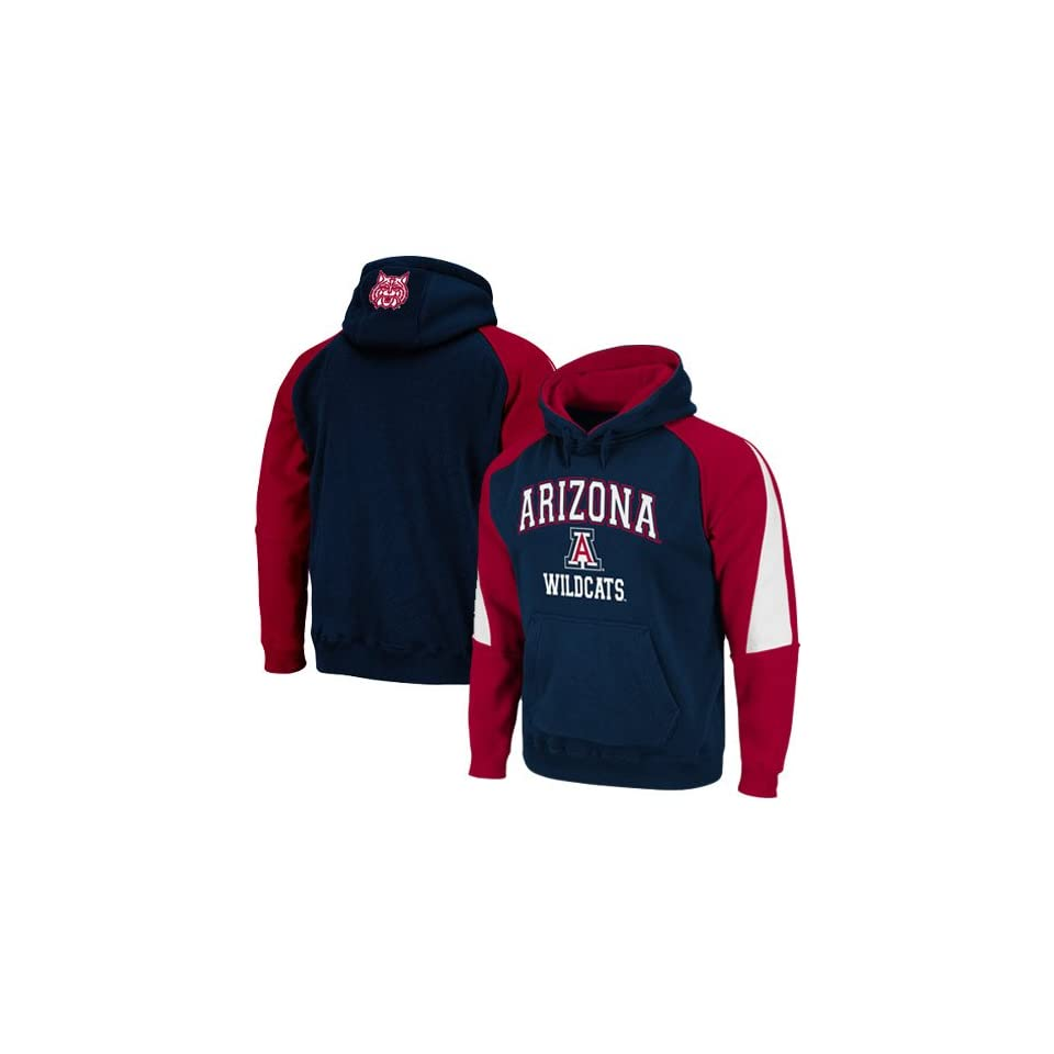 NCAA Arizona Wildcats Navy Blue Cardinal Playmaker Pullover Hoodie