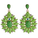 Shining Diva Fashion Non-Precious Metal Clip-On Earrings for Women (Multi-Colour)