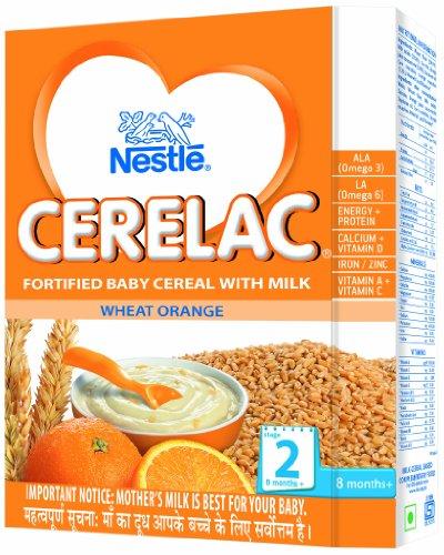 Nestle Cerelac Cereal With Milk - Orange (300 G)