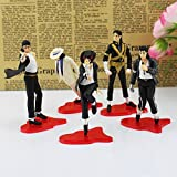 Michael Jackson King of Pop 5 Figures Set