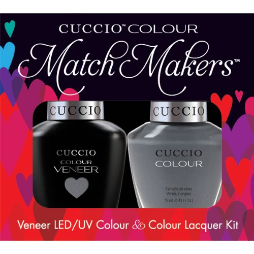 Cuccio Veneer and Colour Matchmaker Nail Polish Soaked in Seattle