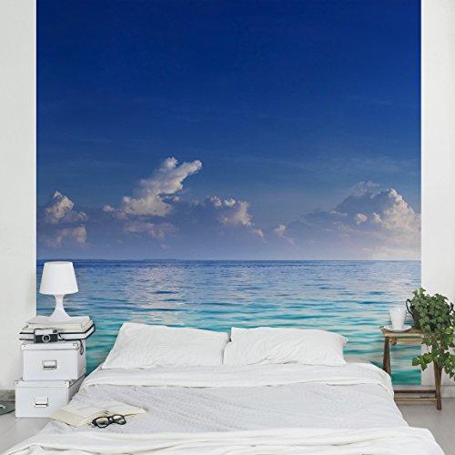 Fotomural-Turquoise-Lagoon-Mural-cuadrado-papel-pintado-fotomurales-murales-pared-papel-para-pared-foto-mural-pared-barato-decorativo
