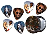 Black Eyed Peas (WK) 6 X Live Performance Guitar Picks in Tin
