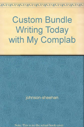 Custom Bundle Writing Today with My Complab