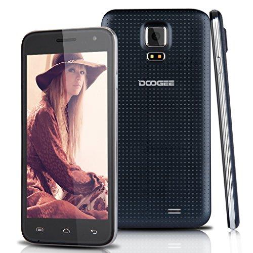 Doogee DG310 – Smartphone libre Android (pantalla 5″, cámara 5 Mp, 8 GB, Quad-Core 1.3 GHz, 1 GB RAM), negro