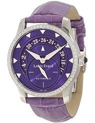Louis Erard Women's 92600SE07.BDC93 Emotion Automatic Diamond Purple Date Watch